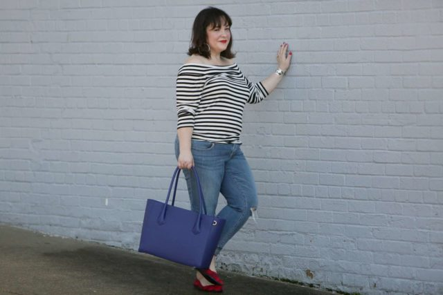 Dagne Dover Legend Tote Review (and a Giveaway!) | Wardrobe Oxygen |  Bloglovin'