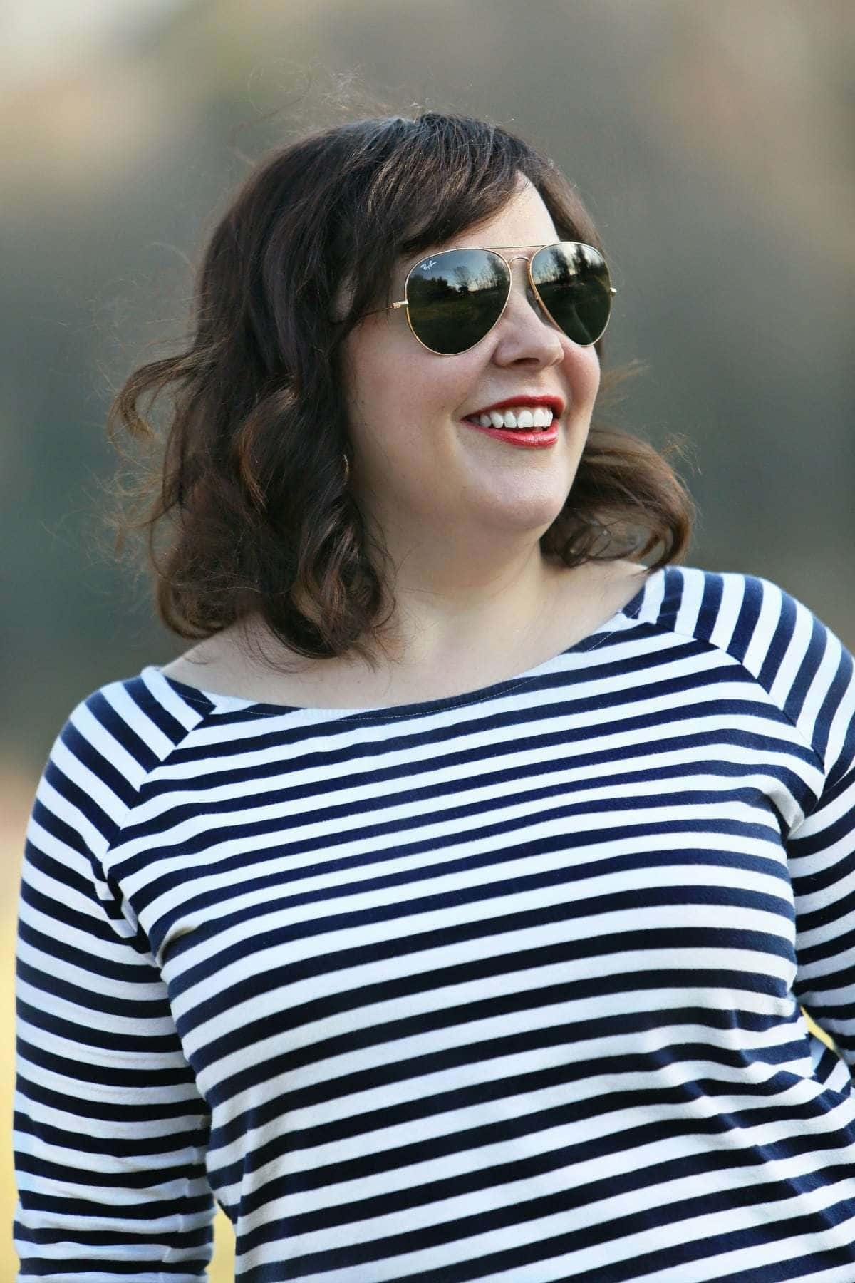 ellow stripe shirt