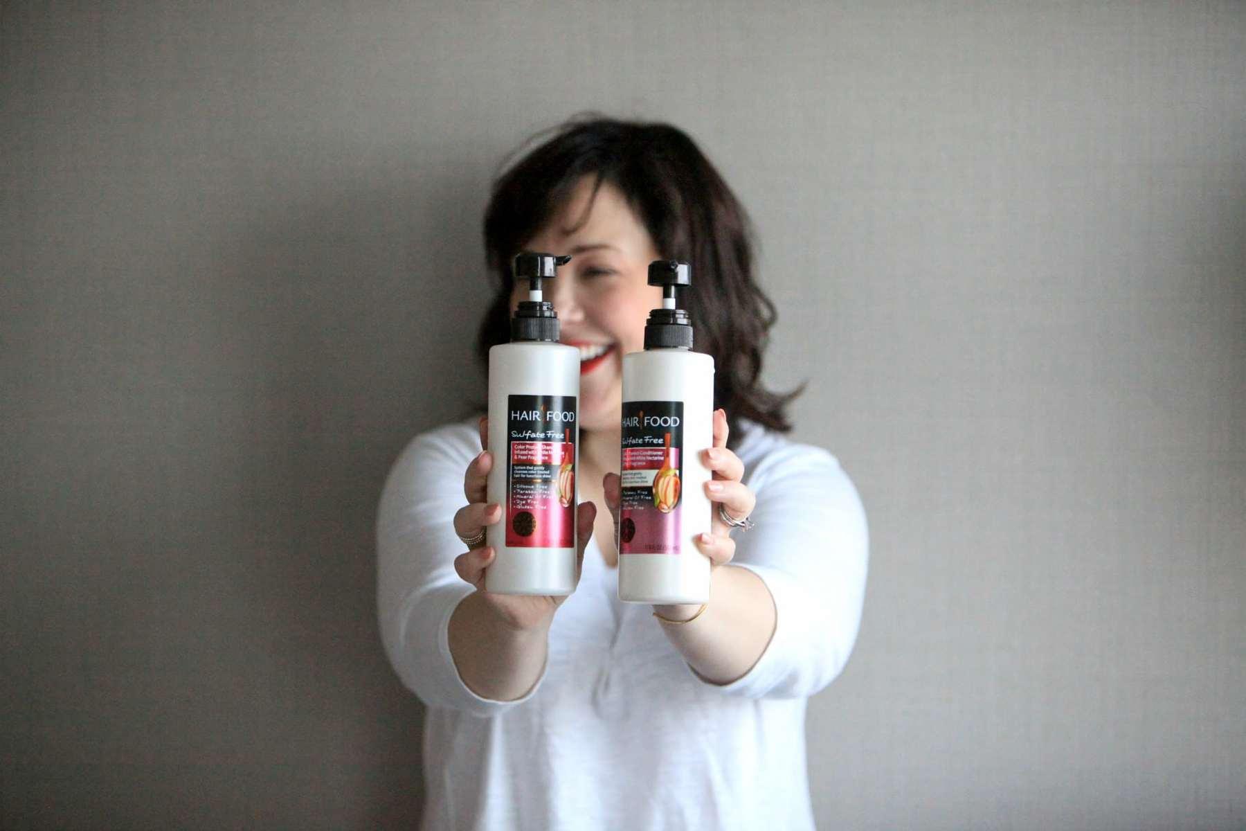 hair food shampoo color treated