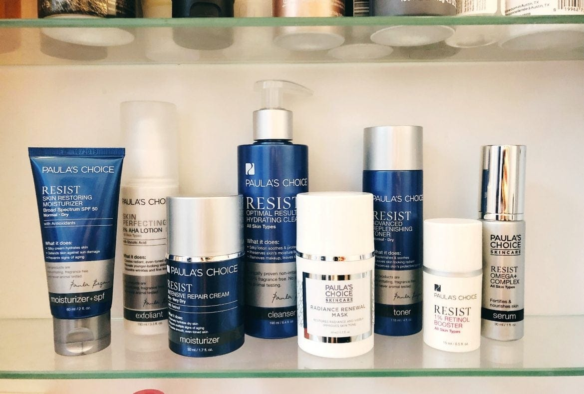 paulas choice resist skincare review