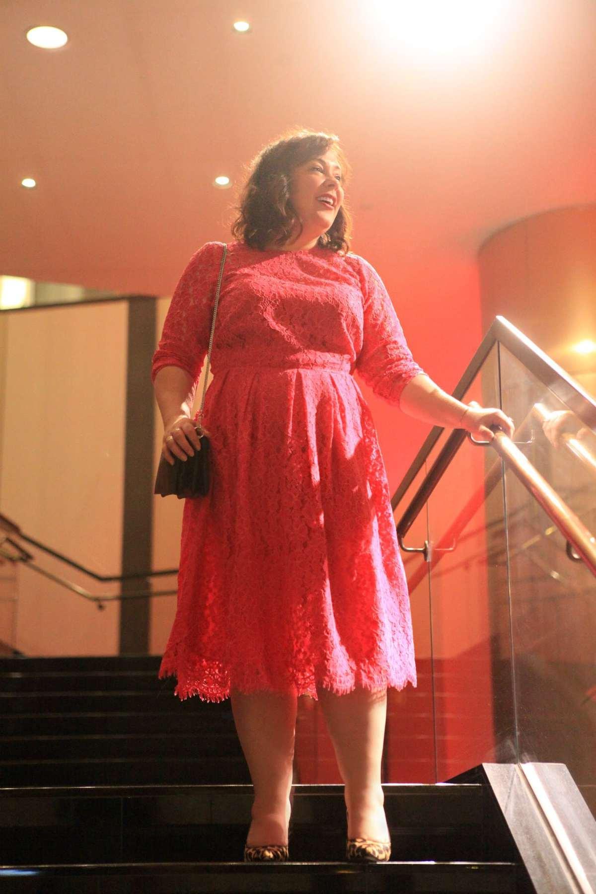 pink lace dress spring 2018 eloquii