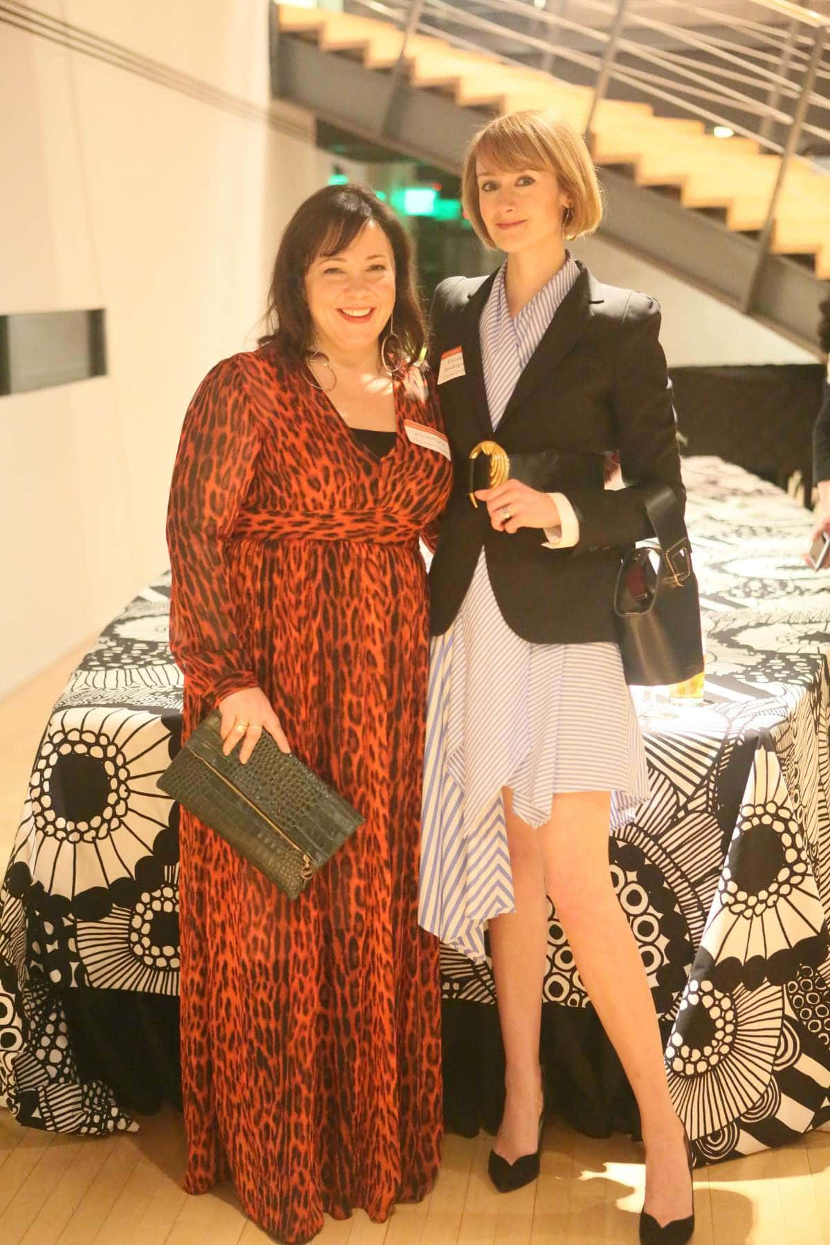 Wardrobe Oxygen and District of Chic at the Embassy of Finland for a CARE Global Leaders Network event