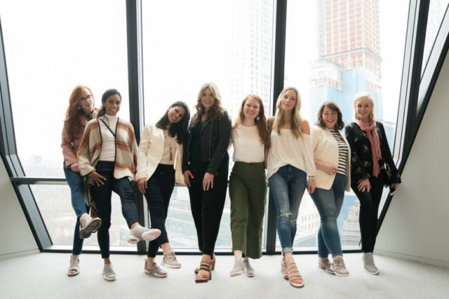 bloggers in jambu shoes at good housekeeping
