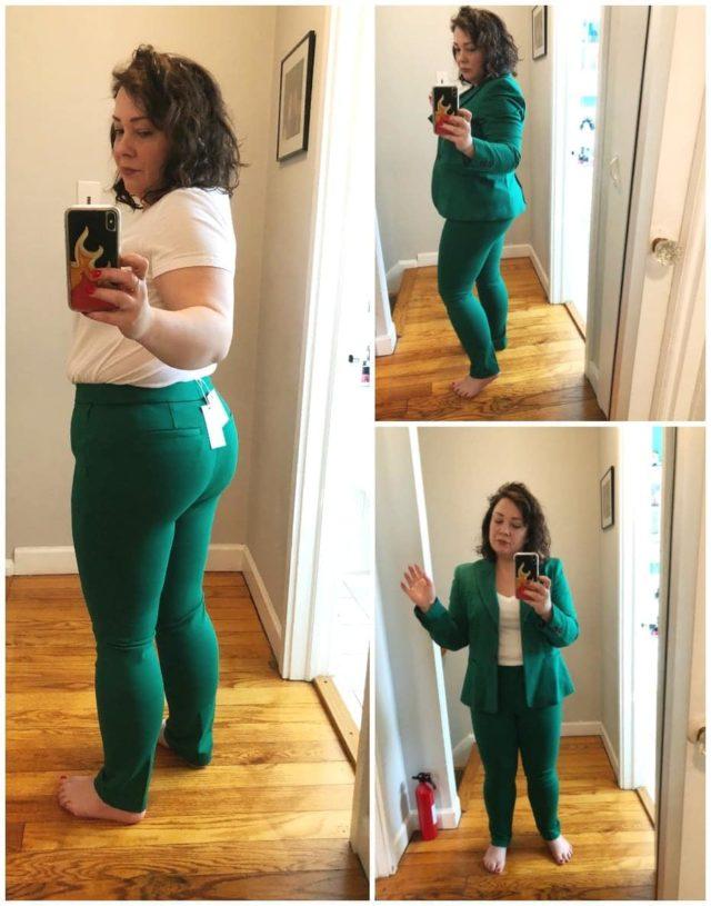 boden hampshire 7/8 pants sap green