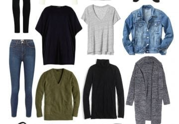 Capsule Wardrobe for the Work from Home Woman