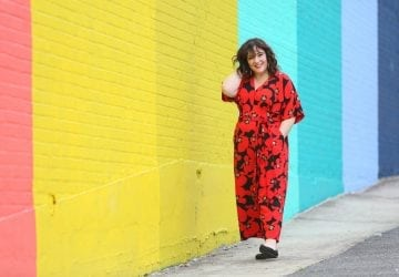 What I Wore: Bold Floral