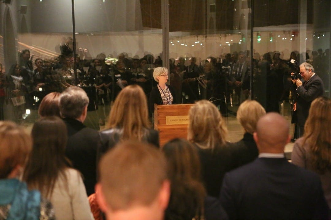 Finland's Ambassador Kirsti Kauppi