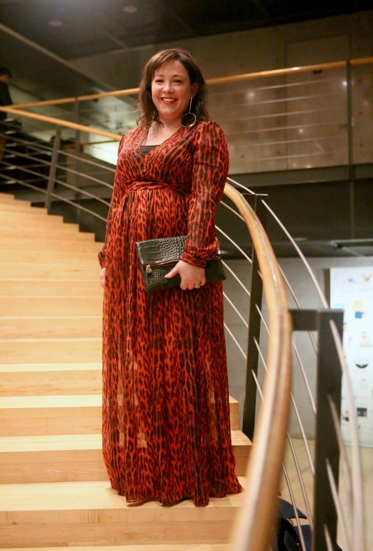 michael kors maxi dress leopard 1