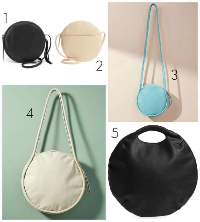 Wardrobe Oxygen picks the best circle bags at every price point for 2018. These minimalist styles will be chic now and seasons to come.