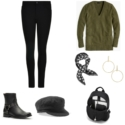 capsule wardrobe for the teleworker featuring soft and comfortable yet chic pieces to mix and match for a month of fashion