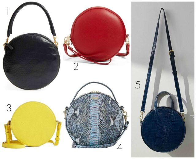 Wardrobe Oxygen picks the best circle bags for 2018 - these choices are stylish this spring and summer and beyond