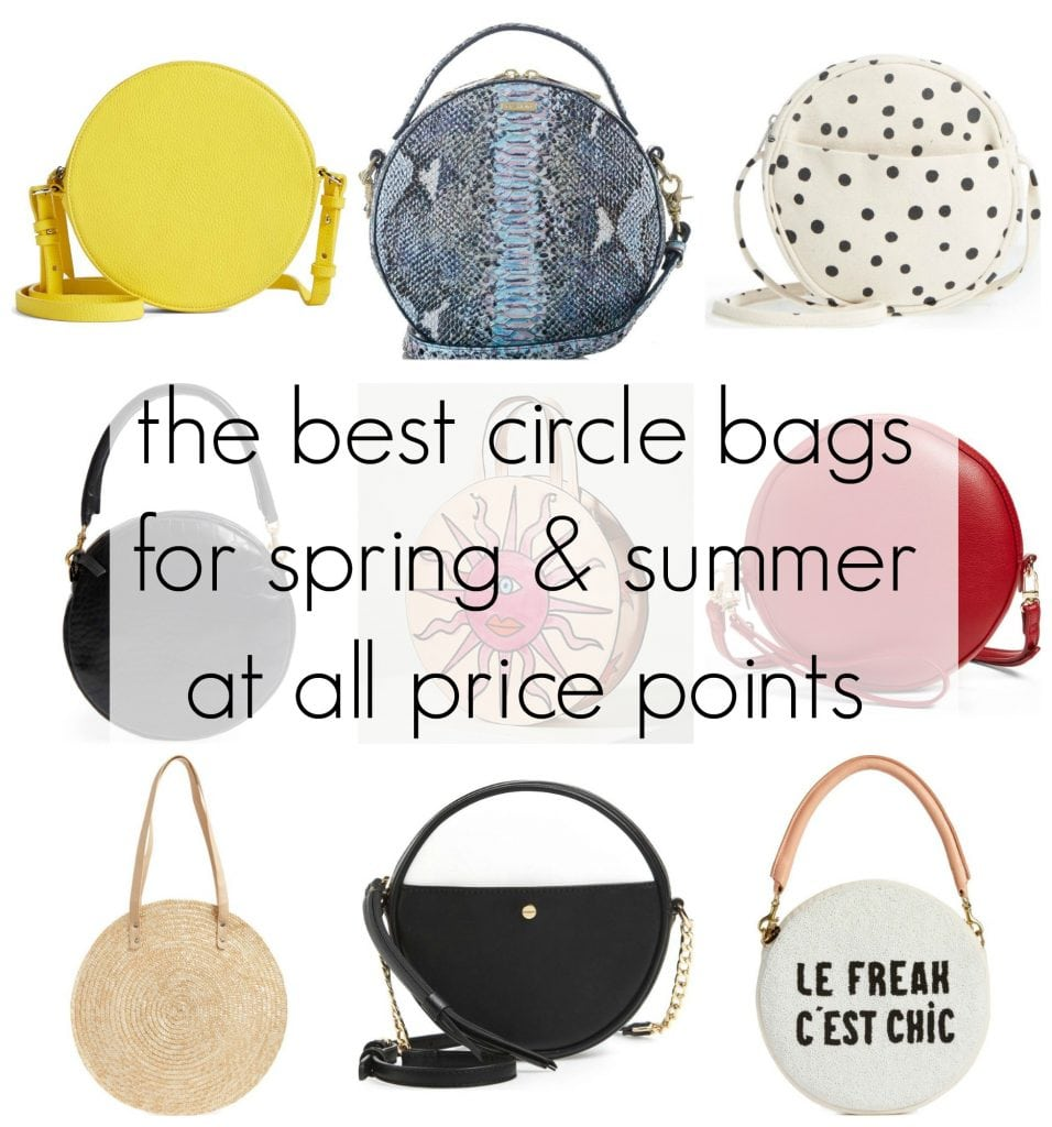 the best circle bags for spring and summer 2018 at all price points