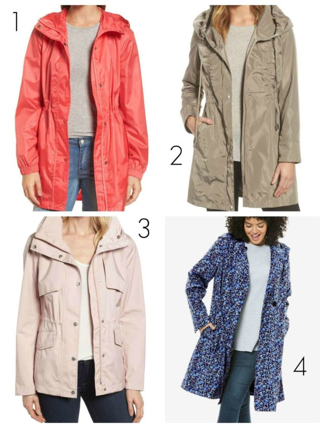 the best packable raincoats for women regular and plus size