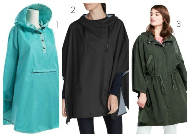 the best rain ponchos for women