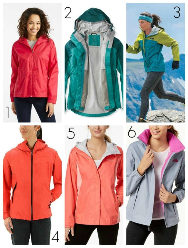 the best sport raincoats for active women
