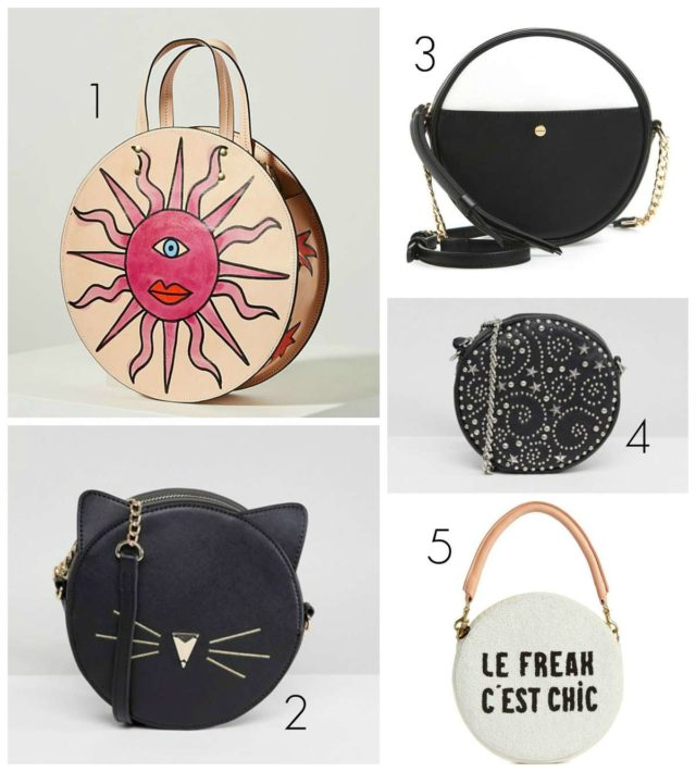 Wardrobe Oxygen picks the best circle bags for spring and summer 2018. These are the most creative and sassy picks for the season at all price points.