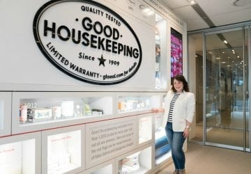 What I Wore: Tour of Good Housekeeping with Jambu [Sponsored]