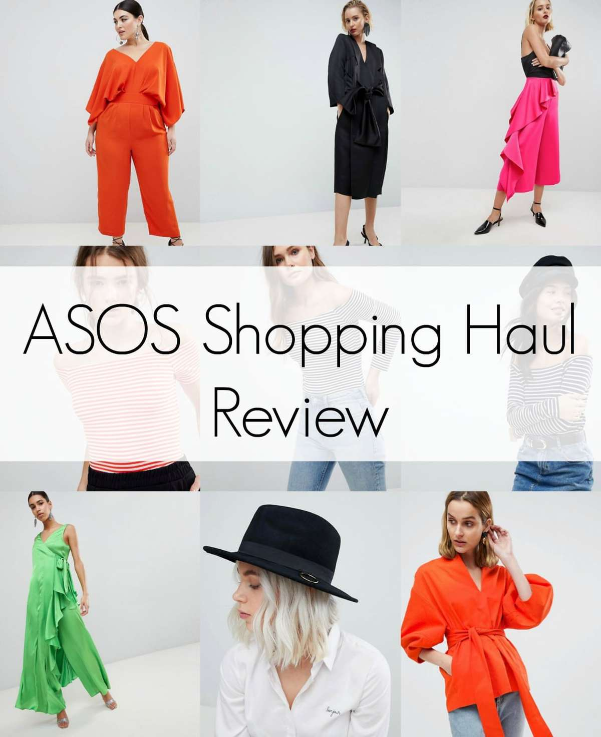ASOS shoppiong haul honest review by wardrobe oxygen