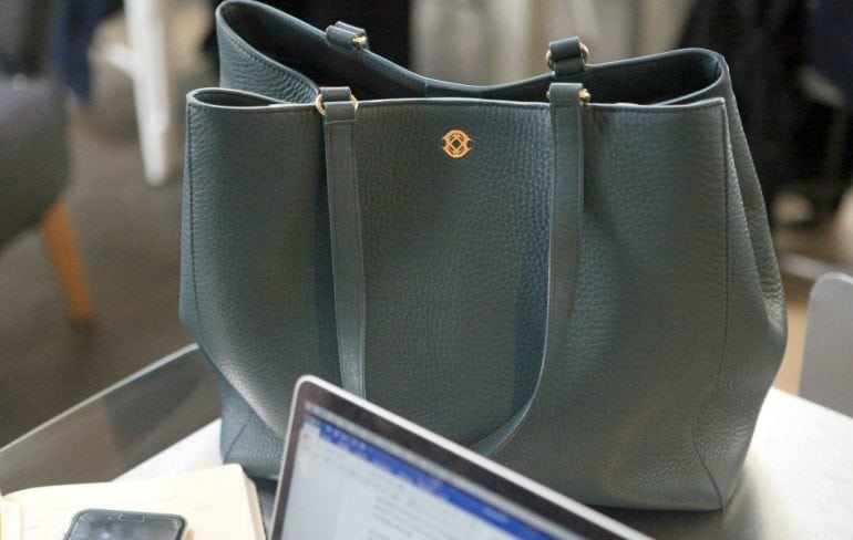 Dagne Dover Tote Legend vs Allyn review featured by popular Washington DC fashion blogger, Wardrobe Oxygen