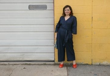 What I Wore: ELOQUII Denim Jumpsuit