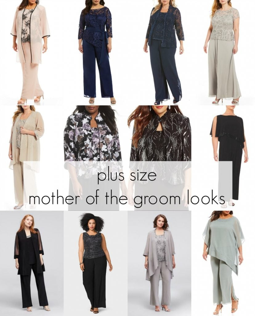 Plus size mother of the groom dresses for summer outdoor wedding - focus on beach weddings and for those who are less comfortable in dresses and girly looks - Mother of the Groom Fashion featured by popular Washington DC plus size fashion blogger, Wardrobe Oxygen