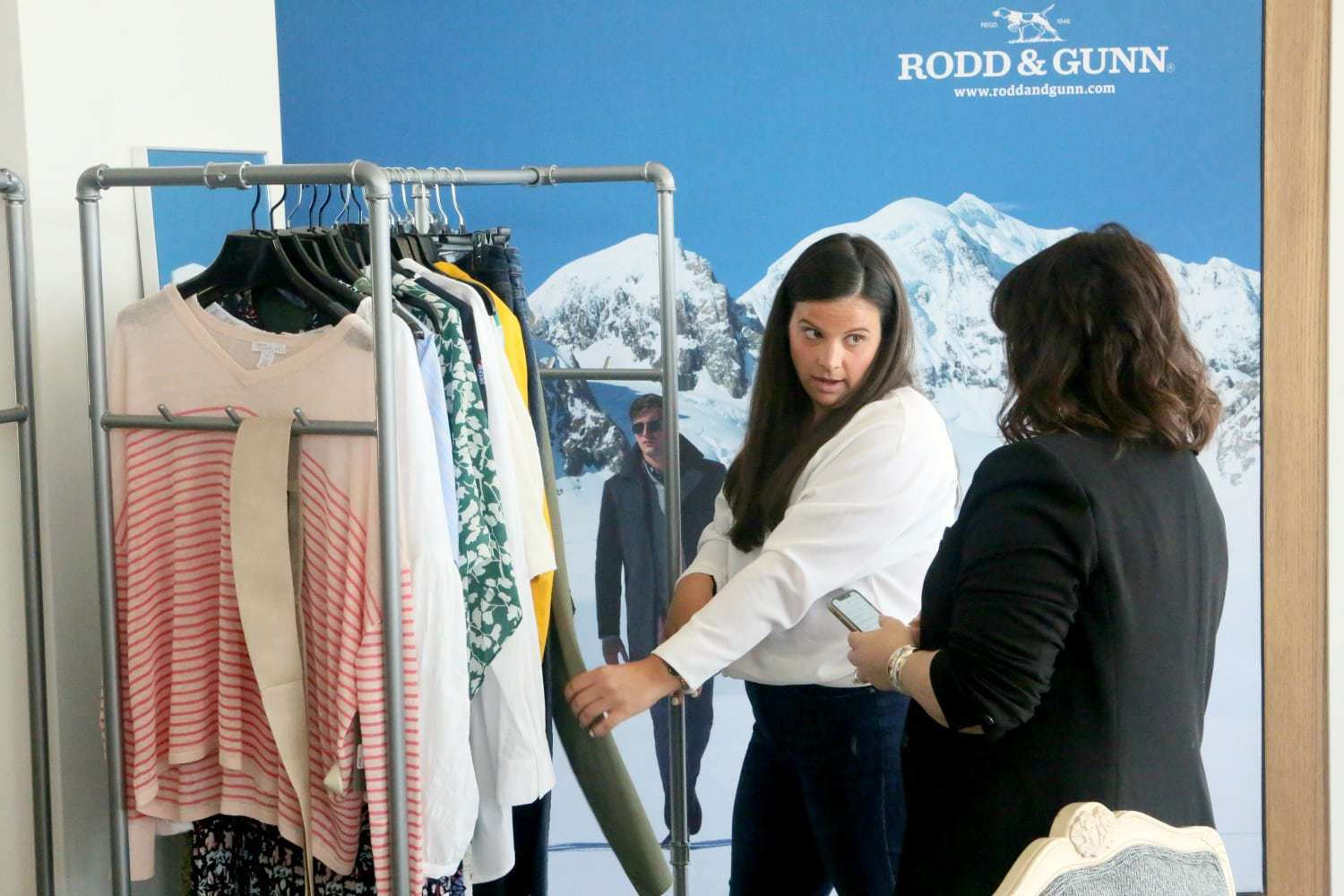 An experience with Trunk Club at their DC clubhouse - DC trunk Club Clubhouse featured by popular Washington DC petite fashion blogger, Wardrobe Oxygen