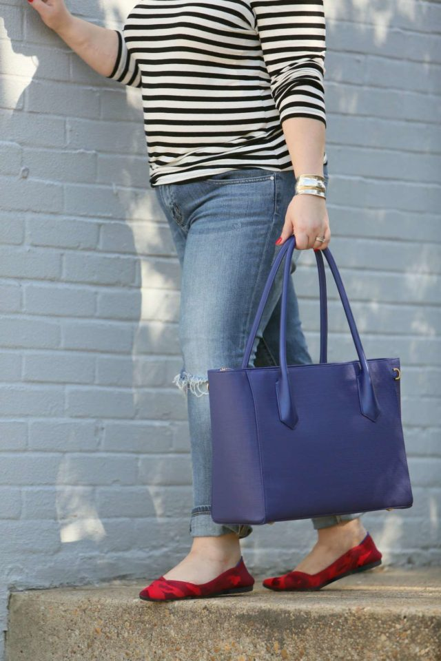 A review of the Dagne Dover Legend Tote, how it hols up, and how it compares to the Allyn Tote - Dagne Dover Tote Legend vs Allyn review featured by popular Washington DC fashion blogger, Wardrobe Oxygen