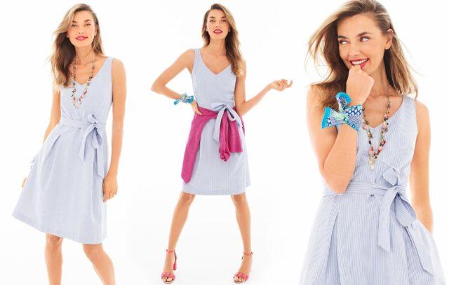 seersucker dress talbots 2018 - Friends & Family Talbots Sale featured by popular Washington DC petite fashion blogger, Wardrobe Oxygen