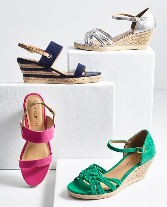 talbots shoes summer 2018 - Friends & Family Talbots Sale featured by popular Washington DC petite fashion blogger, Wardrobe Oxygen