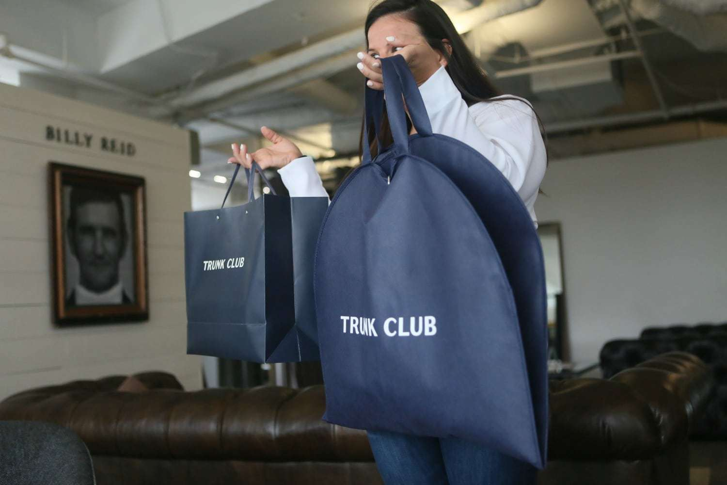 the trunk club dc clubhouse - my experience as a woman shopping there and being styled there - DC trunk Club Clubhouse featured by popular Washington DC petite fashion blogger, Wardrobe Oxygen