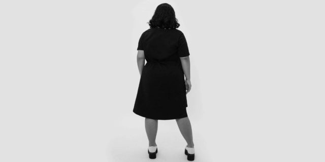 universal standard petites featured by popular Washington DC petite fashion blogger, Wardrobe Oxygen
