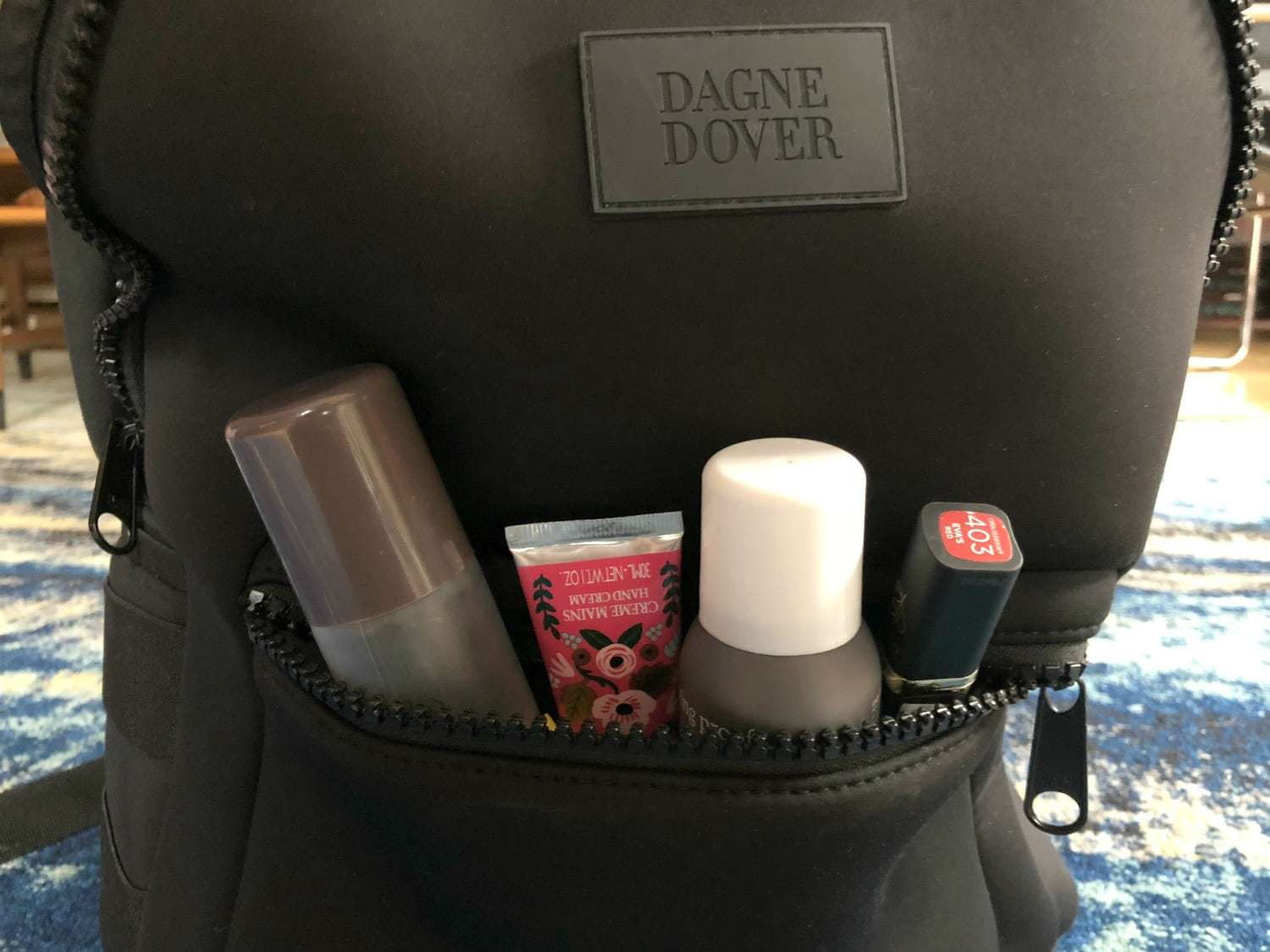 what can you fit in a dagne dover dakota backpack
