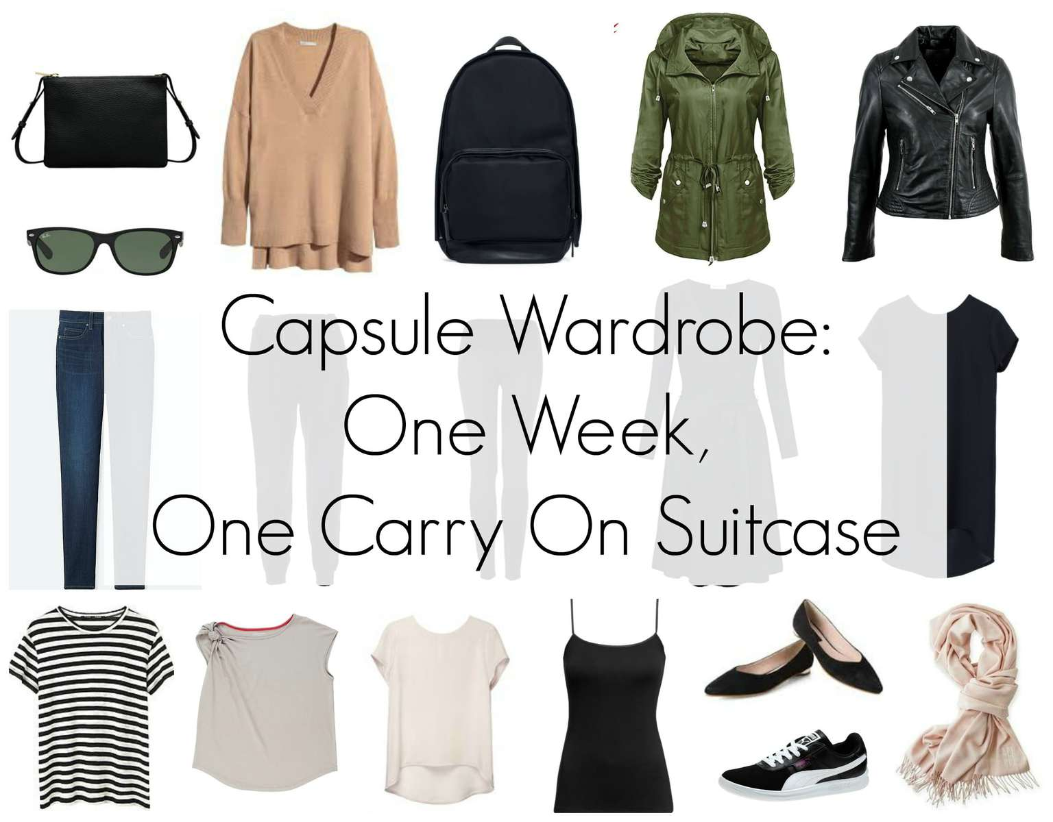 Capsule Wardrobe One Week One Carry On Suitcase