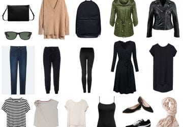 Capsule Wardrobe: Chic Week in a Carryon Suitcase