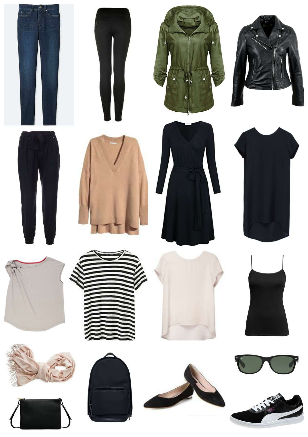 capsule wardrobe week carryon