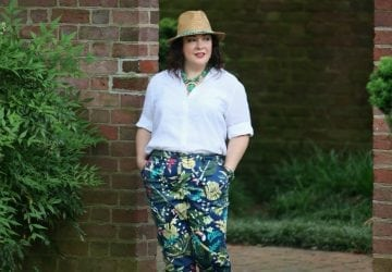 What I Wore: Wrinkle-Free Linen