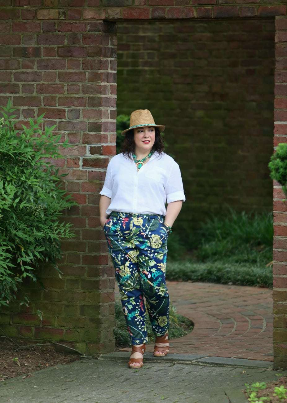chicos comfort waist pant review