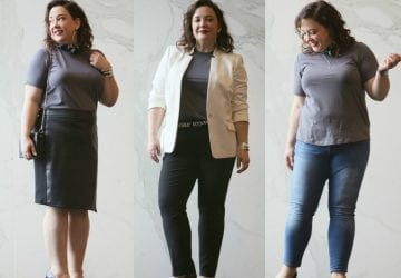 Real Life Capsule Wardrobe: The Refined T-Shirt