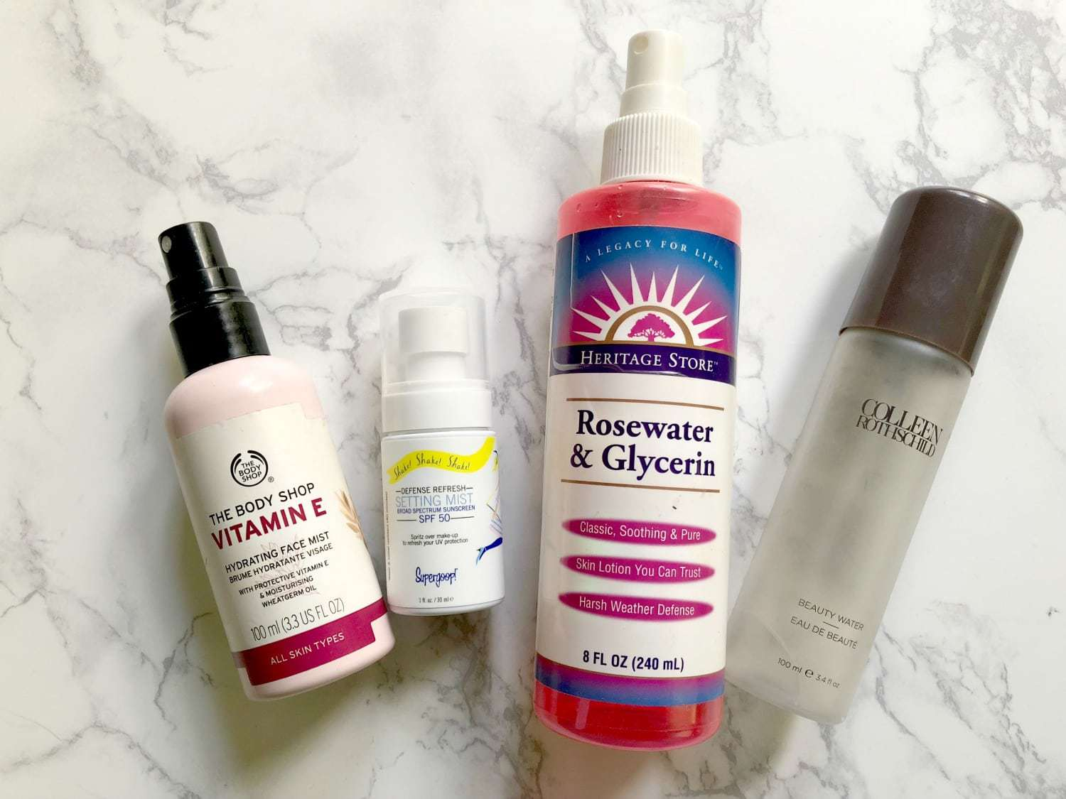 my favorite face mists - The Best Beauty Products featured by popular DC beauty blogger, Wardrobe Oxygen