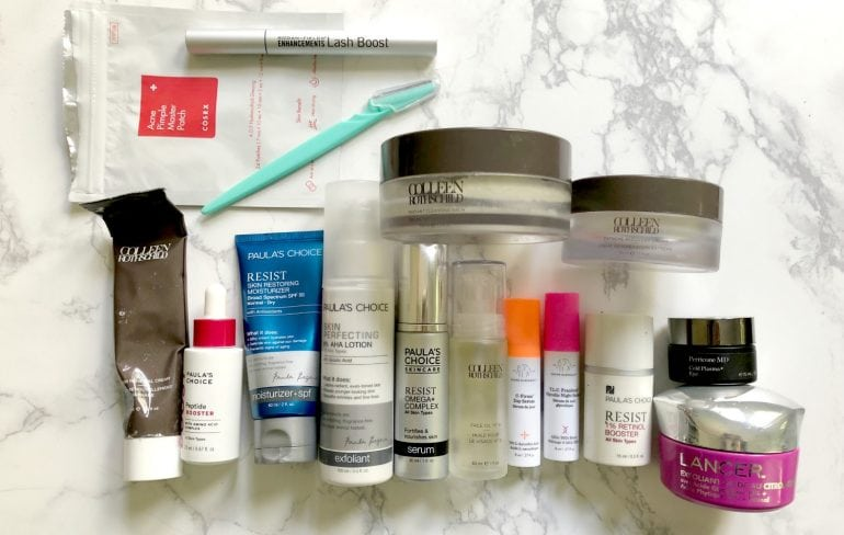 my favorite skincare products - the best serums, creams, treatments, and more for over 40 skin by wardrobe oxygen - The Best Beauty Products featured by popular DC beauty blogger, Wardrobe Oxygen
