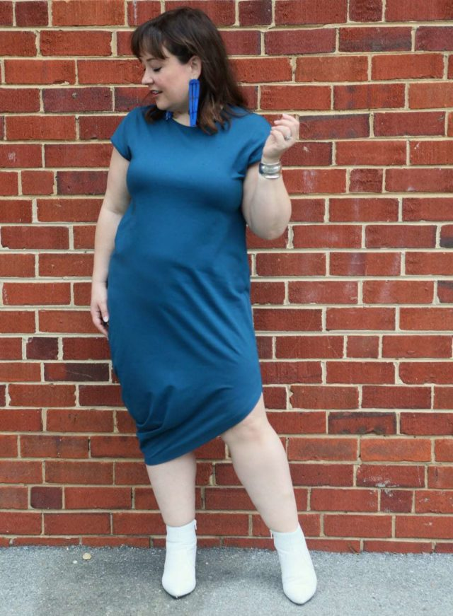 universal standard petite geneva dress