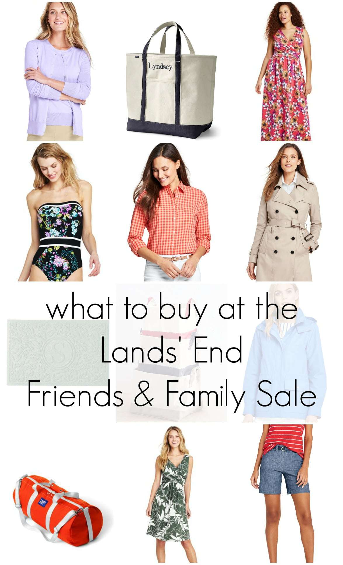 what to buy at the lands end friends and family sale