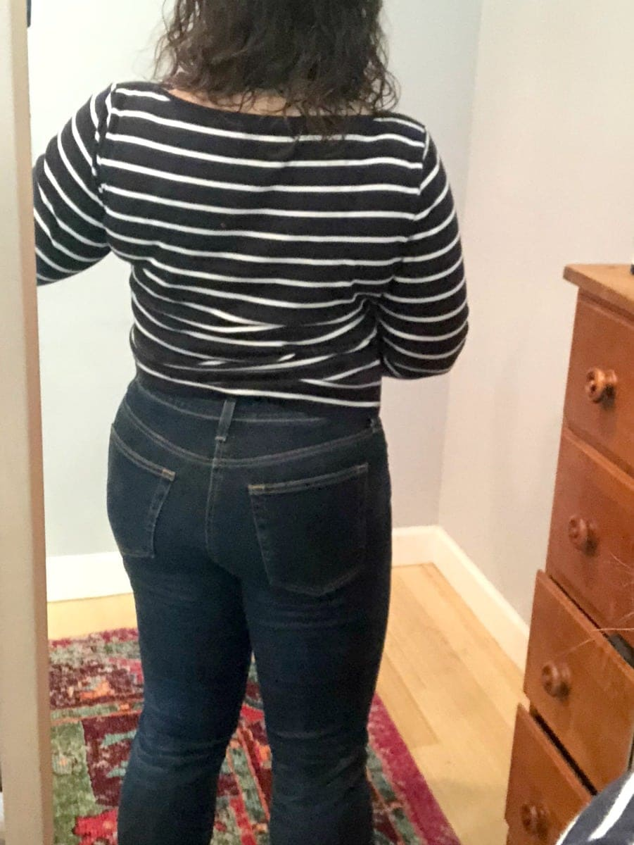 a ag jeans prima back view