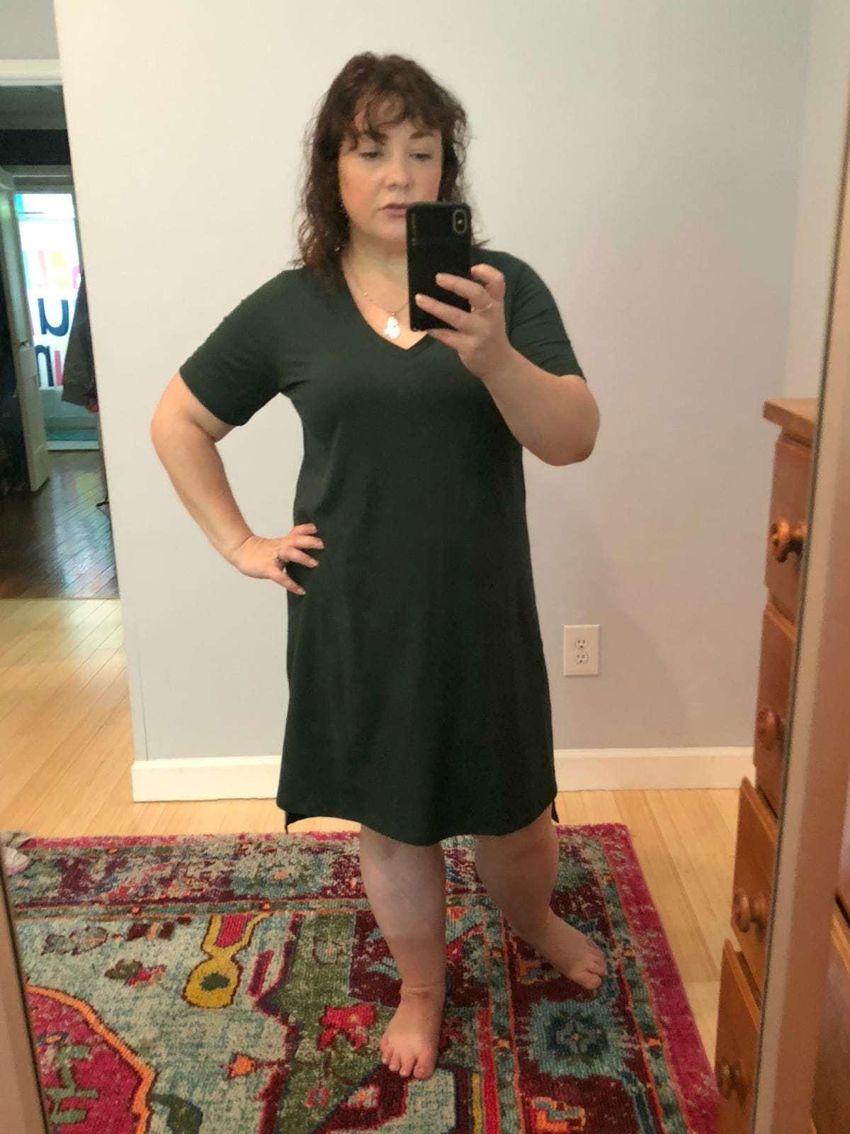 a universal standard tesino dress review