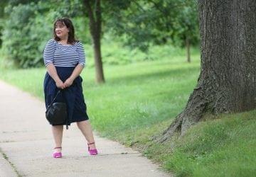 What I Wore: And Comfort Tokyo Skirt
