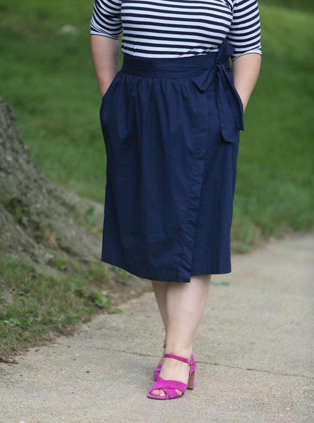 and comfort wrap skirt
