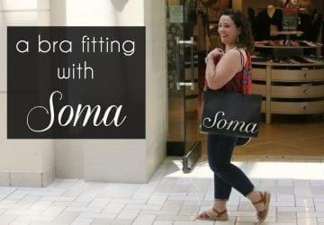 A Soma Intimates Bra Fitting: My Experience [Sponsored]
