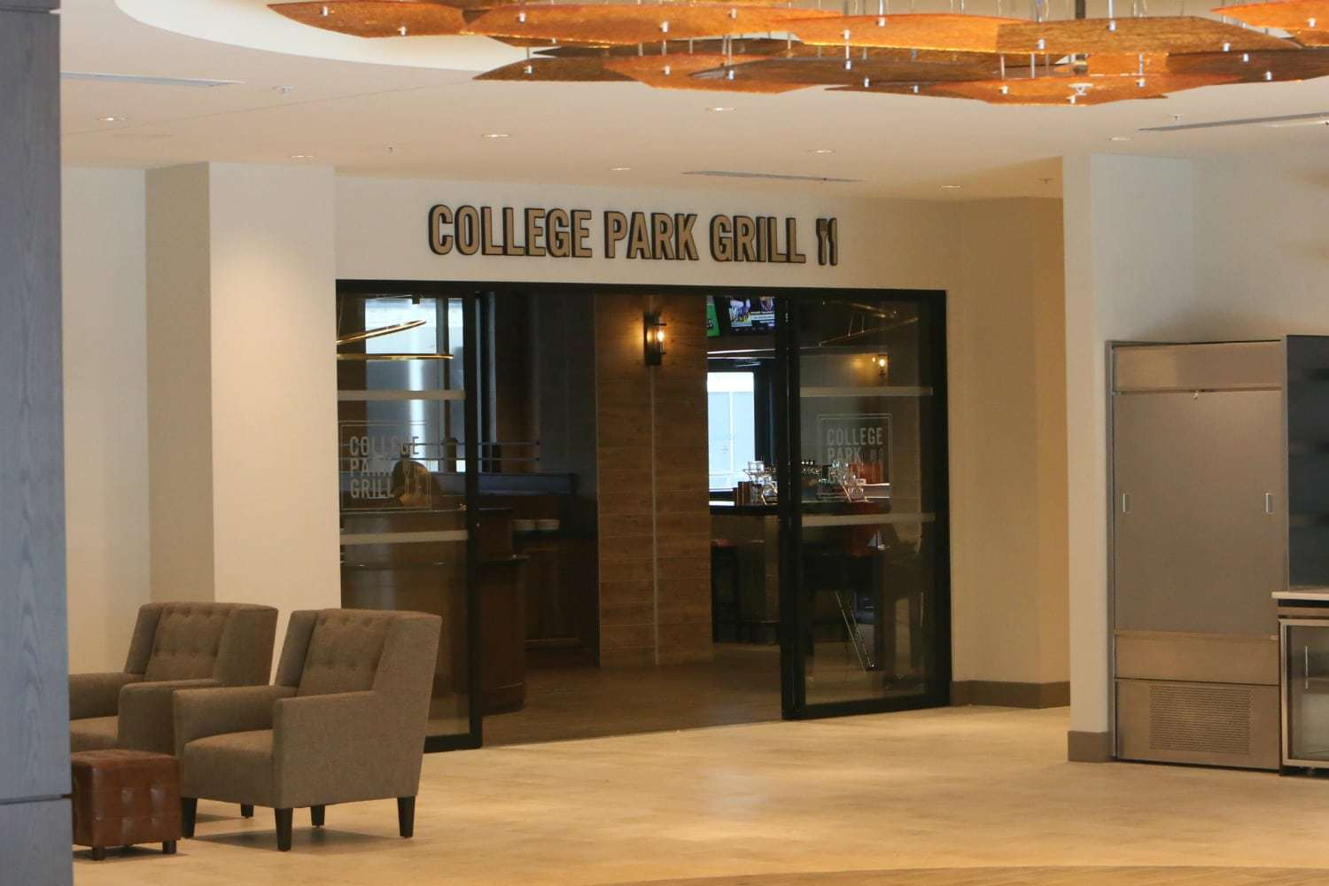 college park grill review