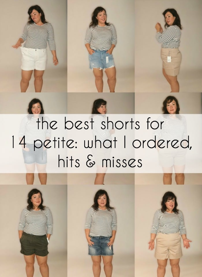 the best shorts for a 14 petite