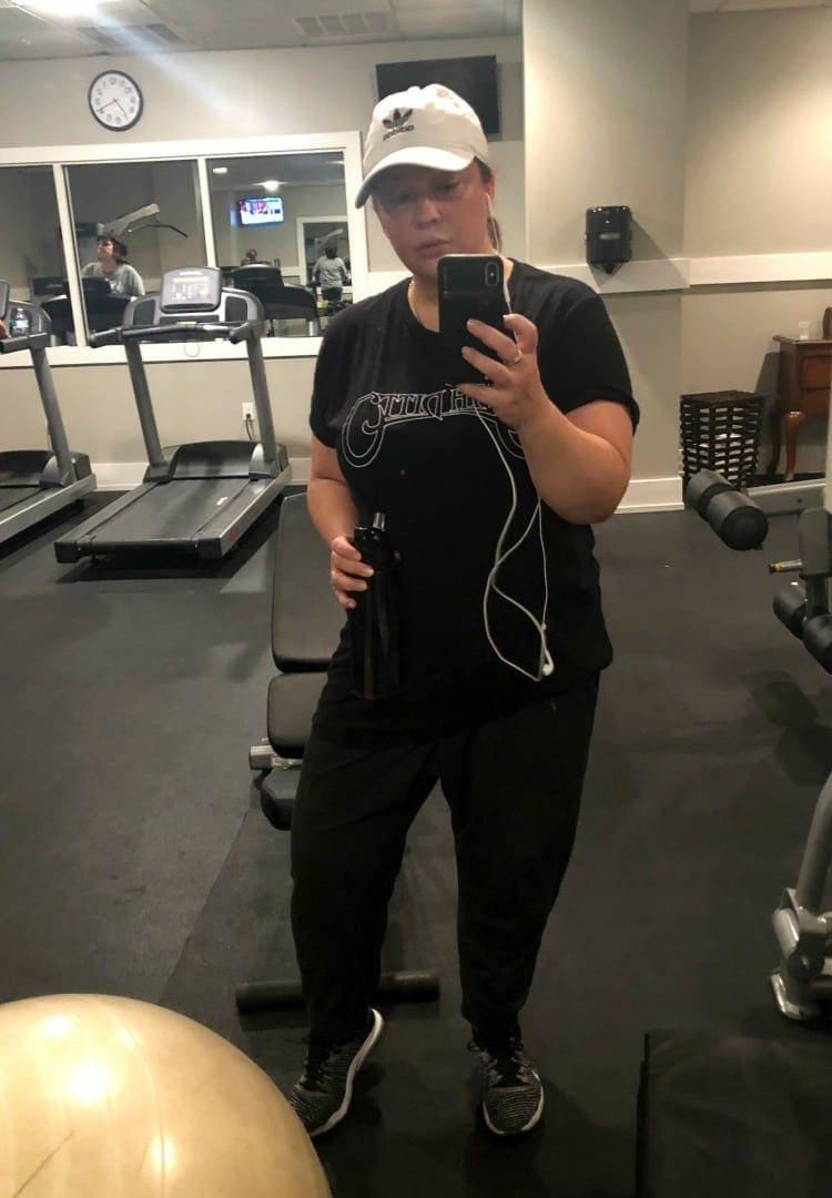 what i wore to the gym rehoboth beach
